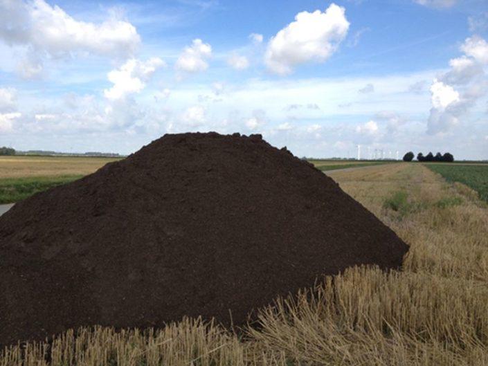 27 oktober 2012: compost strooien