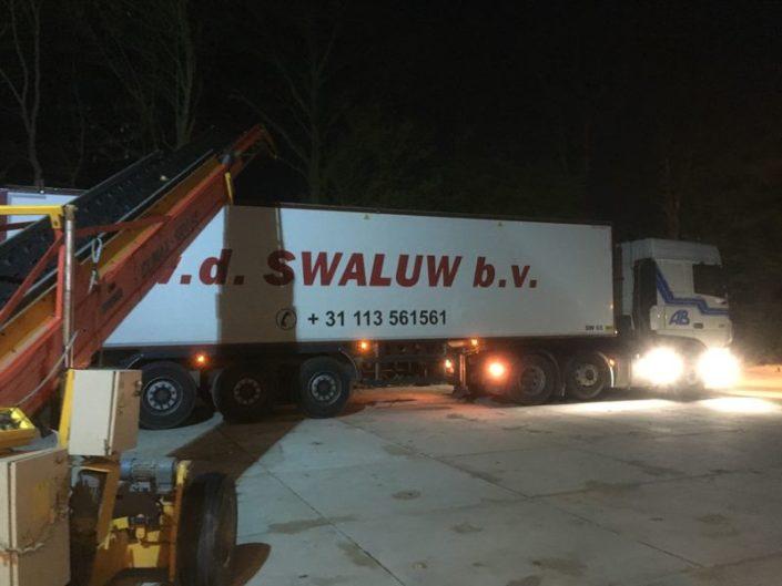 3 & 4 mei 2016: eerste uien afgeleverd