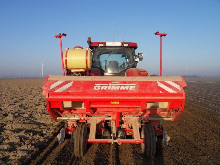 29 maart 2011: aardappels al in de grond
