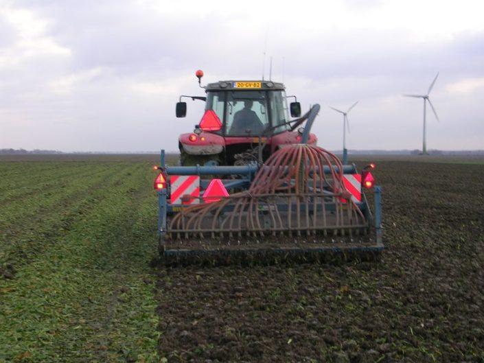 23 november 2008; Suikerbieten rooien en wintertarwe zaaien