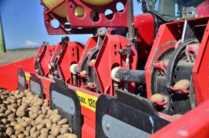 11 en 12 april; aardappels poten