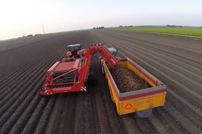 18 t/m 20 september 2014; aardappel oogst