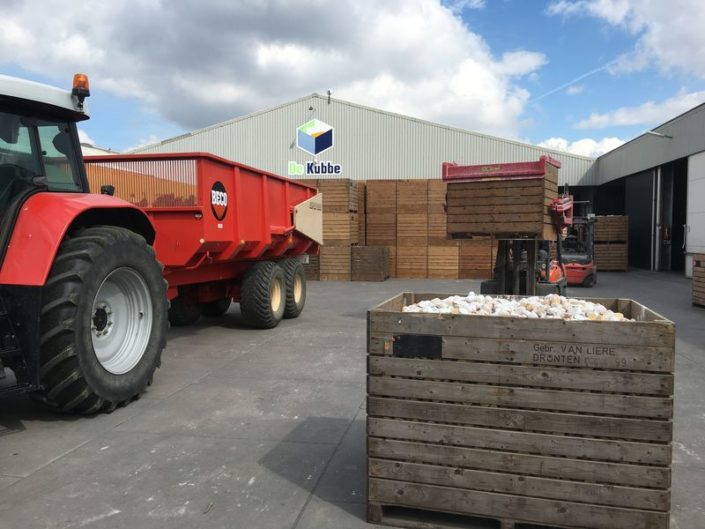 11 april 2017; laatste aardappels gepoot