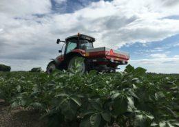 Harrysfarm-Swifterbant-Flevoland-5 juni 2017-overbemesting-nk mix-kunstmest strooien-vicon-aardappelen-IMG_6788