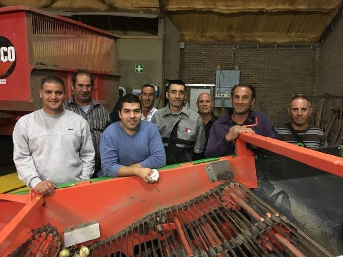 13 september 2017; Maltezers bezoeken Harrysfarm