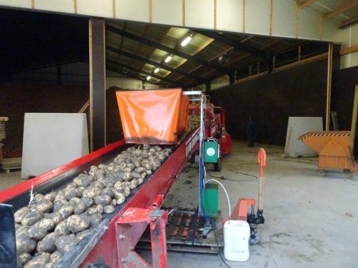 15 oktober 2017; aardappeloogst 2017
