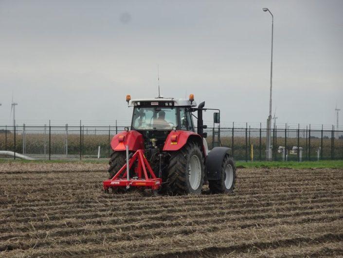 16 oktober 2017; woelen aardappelland
