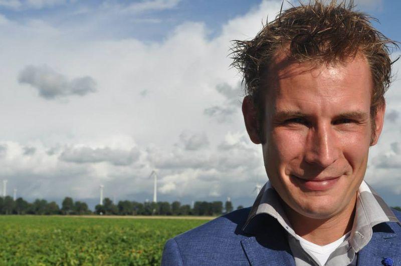 Michiel van de Vate; teeltspecialist Wesemael B.V.