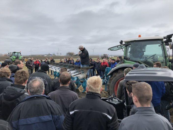 22 maart 2018; demonstratie ecoploegen bij WUR te Lelystad