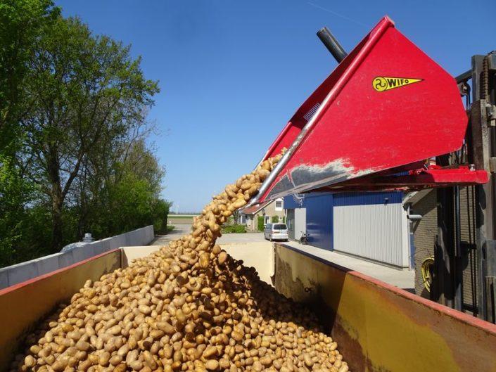 21 en 22 april 2018; aardappels poten