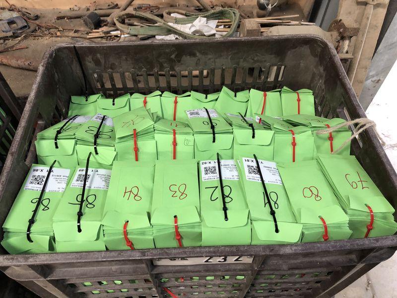 18 en 19 april 2018; suikerbieten proefveld zaaien