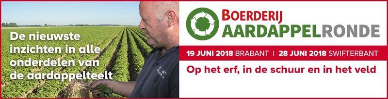 28 juni 2018; Aardappelronde