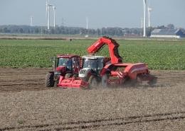 26, 27 en 28 september 2018; aardappel oogst